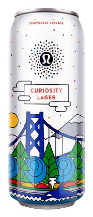Curiosity Lager by Stanley Park Brewing in British Columbia, Canada