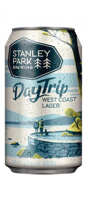 DayTrip West Coast Lager by Stanley Park Brewing in British Columbia, Canada