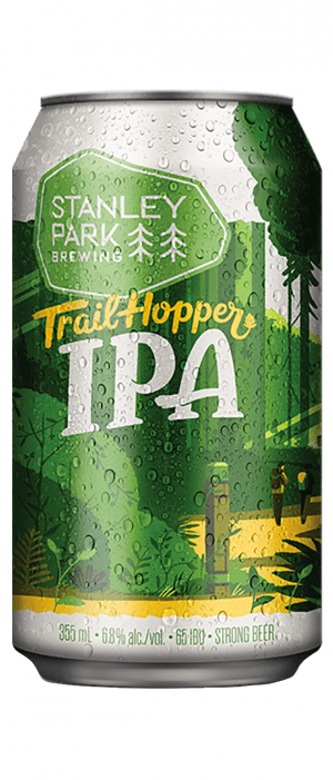 Trail Hopper IPA by Stanley Park Brewing in British Columbia, Canada