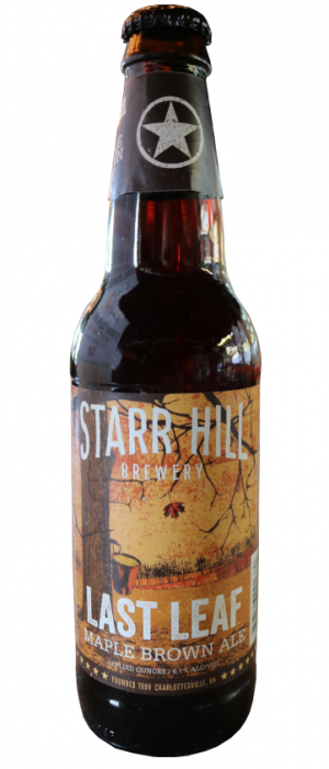 Last Leaf by Starr Hill Brewery in Virginia, United States