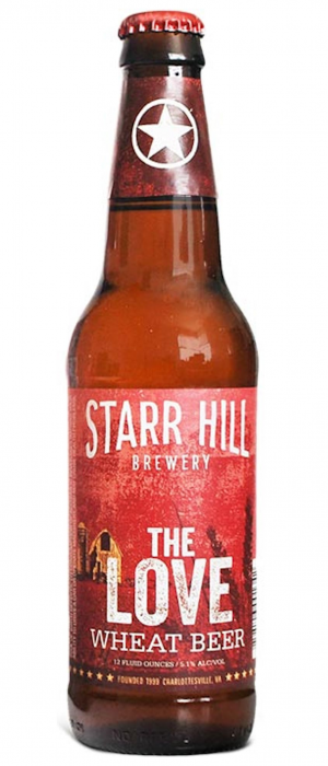 The Love by Starr Hill Brewery in Virginia, United States