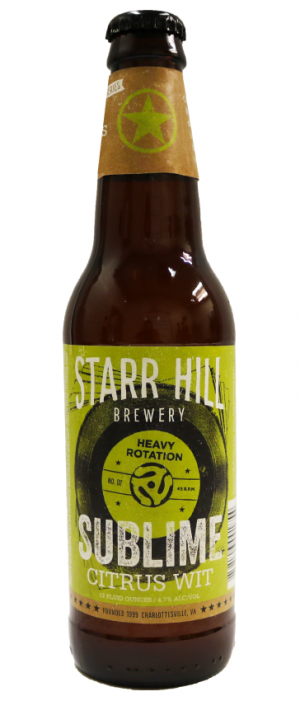 Sublime by Starr Hill Brewery in Virginia, United States