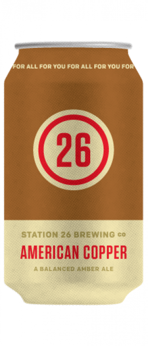 American Copper by Station 26 Brewing Company in Colorado, United States