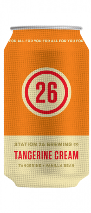 Tangerine Cream by Station 26 Brewing Company in Colorado, United States