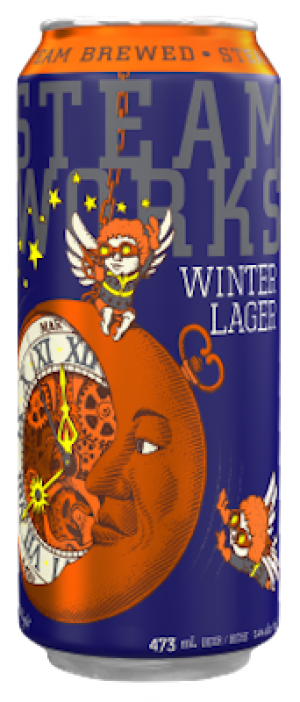 Winter Lager by Steamworks Brewing Company in British Columbia, Canada
