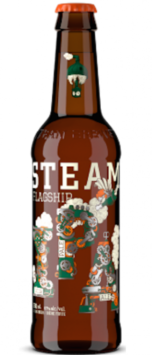 Flagship IPA by Steamworks Brewing Company in British Columbia, Canada