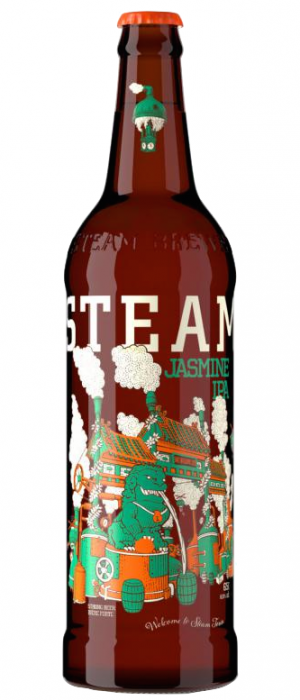 Jasmine IPA by Steamworks Brewing Company in British Columbia, Canada