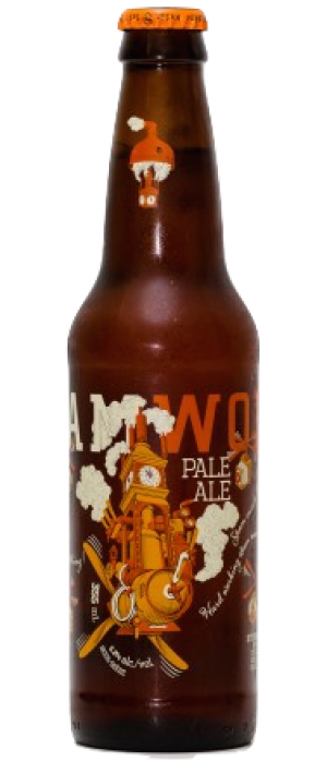 Pale Ale by Steamworks Brewing Company in British Columbia, Canada