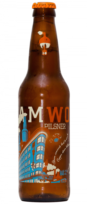 Pilsner by Steamworks Brewing Company in British Columbia, Canada