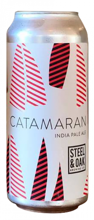 Catamaran by Steel & Oak Brewing Co. in British Columbia, Canada