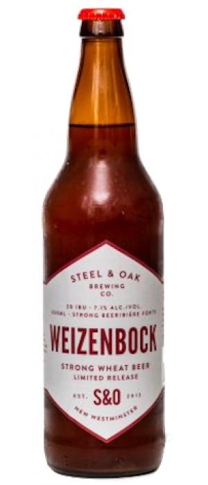 Weizenbock Strong Wheat Beer by Steel & Oak Brewing Co. in British Columbia, Canada