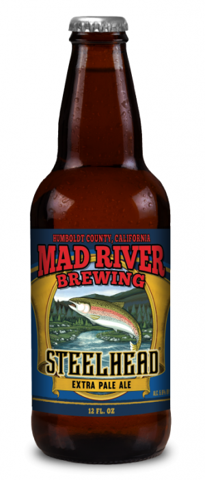 Steelhead Extra Pale Ale by Mad River Brewing in California, United States