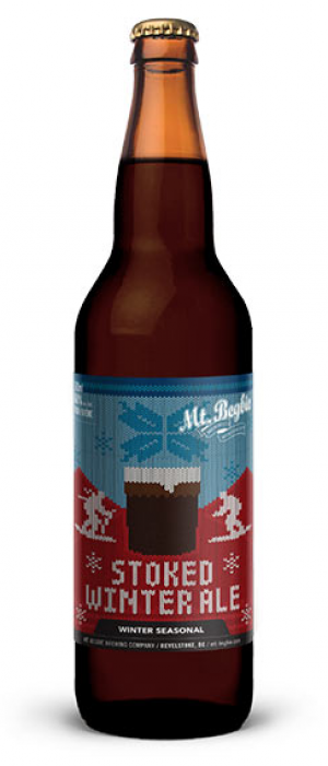 Stoked Winter Ale by Mt. Begbie Brewing Co. in British Columbia, Canada