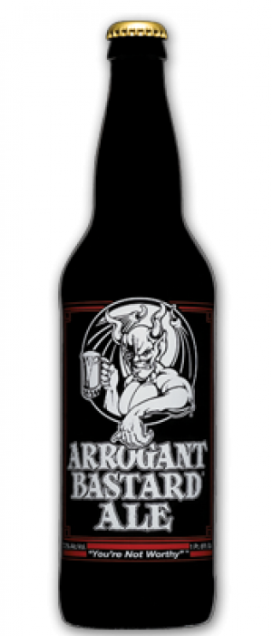 Stone Arrogant Bastard Ale by Stone Brewing in California, United States