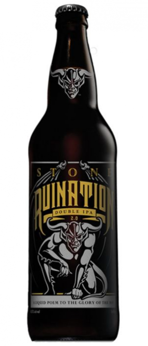 Stone Ruination Double IPA by Stone Brewing in California, United States