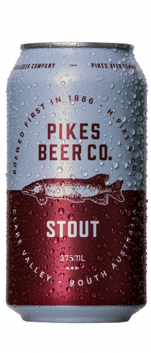 Stout by Pikes Beer Company in South Australia, Australia