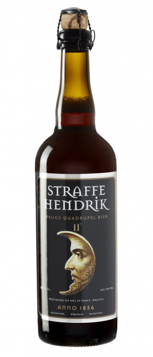 Straffe Hendrik Quadruple by Brouwerij De Halve Maan in Flandre-Occidentale, Belgium