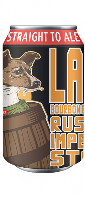 Laika Bourbon Barrel Aged by Straight To Ale in Alabama, United States