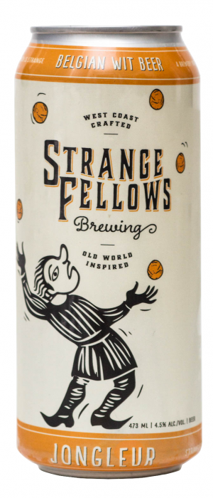 Jongleur by Strange Fellows Brewing in British Columbia, Canada