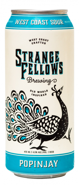 Popinjay by Strange Fellows Brewing in British Columbia, Canada