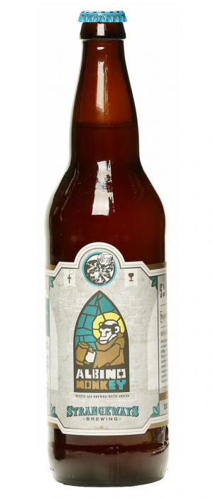 Albino Monkey Belgian White Ale by Strangeways Brewing in Virginia, United States