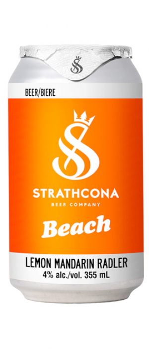 Lemon Mandarin Radler by Strathcona Beer Company in British Columbia, Canada