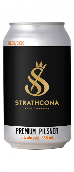 Premium Pilsner by Strathcona Beer Company in British Columbia, Canada