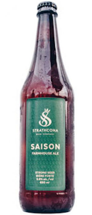 Saison by Strathcona Beer Company in British Columbia, Canada