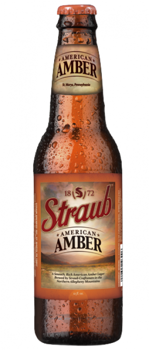 American Amber by Straub Brewery in Pennsylvania, United States