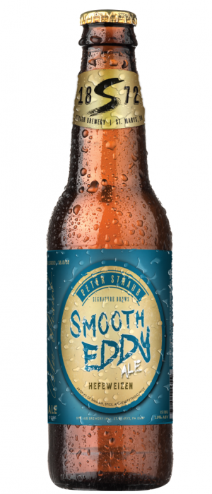 Smooth Eddy Ale by Straub Brewery in Pennsylvania, United States