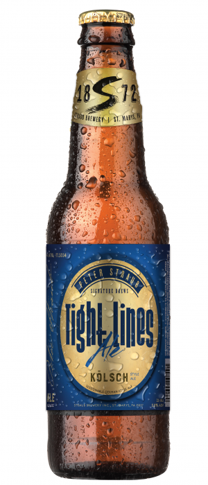 Tight Lines Ale by Straub Brewery in Pennsylvania, United States