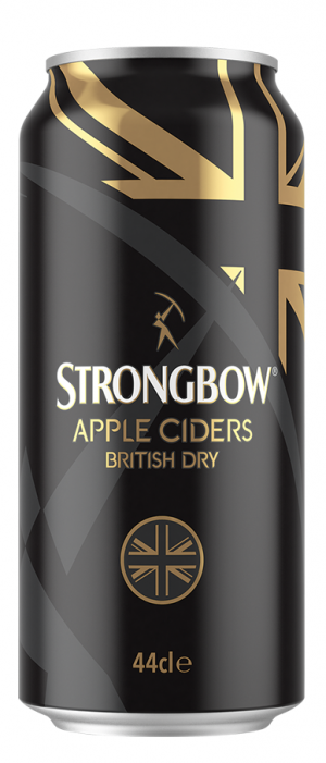 British Dry Cider by Strongbow  in North Holland, Netherlands