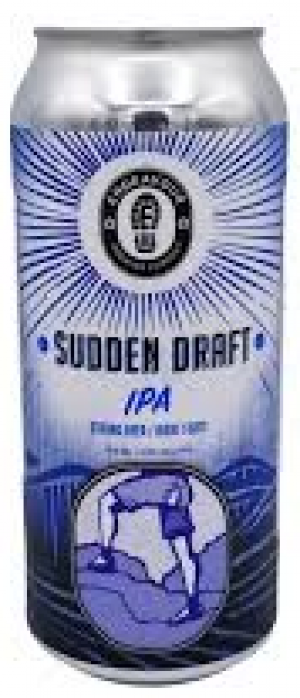Sudden Draft IPA by Endeavour Brewing Company in Alberta, Canada