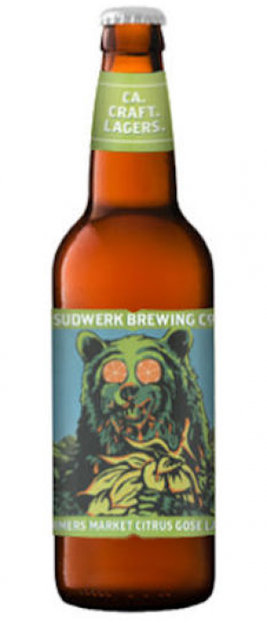 Farmers Market Citrus Gose Lager by Sudwerk Brewing Company in California, United States