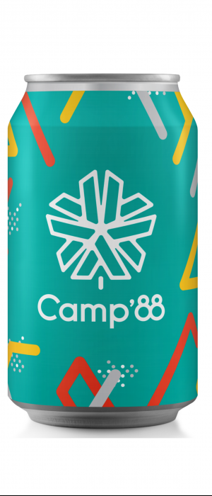 Summer Camp Crush II Paloma Sour by Eighty-Eight Brewing Co. in Alberta, Canada