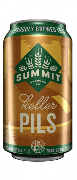 Keller Pils by Summit Brewing Company in Minnesota, United States