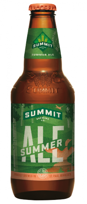 Summer Ale by Summit Brewing Company in Minnesota, United States
