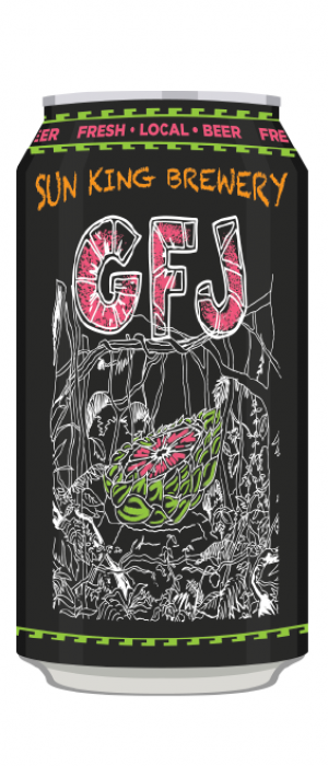 GFJ IPA by Sun King Brewing in Indiana, United States