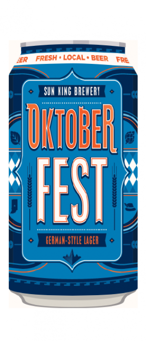 Oktoberfest German-Style Lager by Sun King Brewing in Indiana, United States