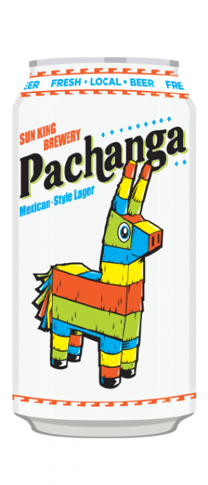 Pachanga Mexican-Style Lager by Sun King Brewing in Indiana, United States