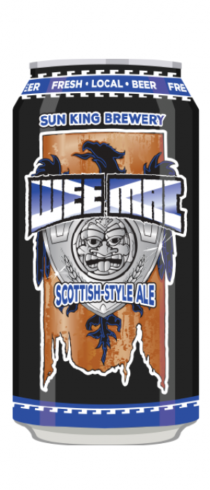 Wee Mac Scottish-Style Ale by Sun King Brewing in Indiana, United States