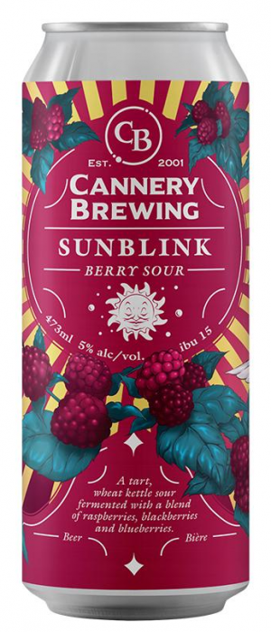 Sunblink Berry Sour by Cannery Brewing in British Columbia, Canada