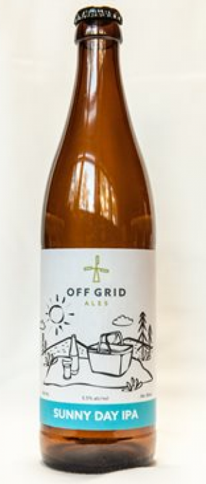 Sunny Day IPA by Off Grid Ales in New Brunswick, Canada