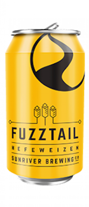 Fuzztail Hefeweizen by Sunriver Brewing Company in Oregon, United States