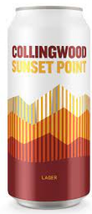 Sunset Point Lager by The Collingwood Brewery in Ontario, Canada