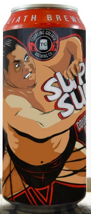 Supa' Sumo Double IPA by Toppling Goliath Brewing Company in Iowa, United States