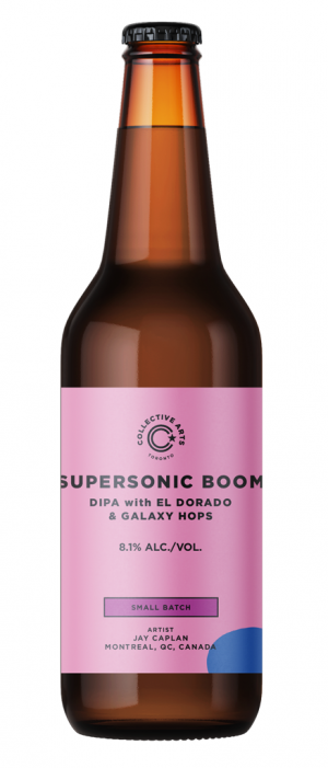 Supersonic Boom by Collective Arts Brewing in Ontario, Canada