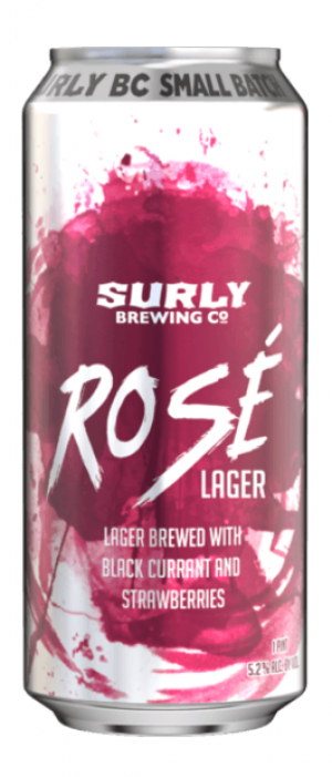 Rosé Lager by Surly Brewing Co. in Minnesota, United States