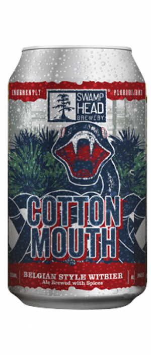 Cottonmouth by Swamp Head Brewery in Florida, United States