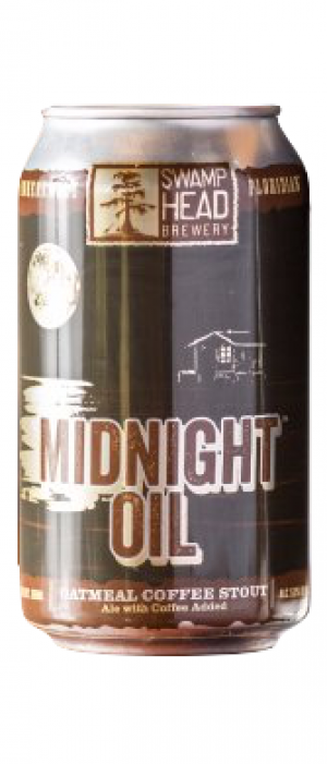 Midnight Oil by Swamp Head Brewery in Florida, United States